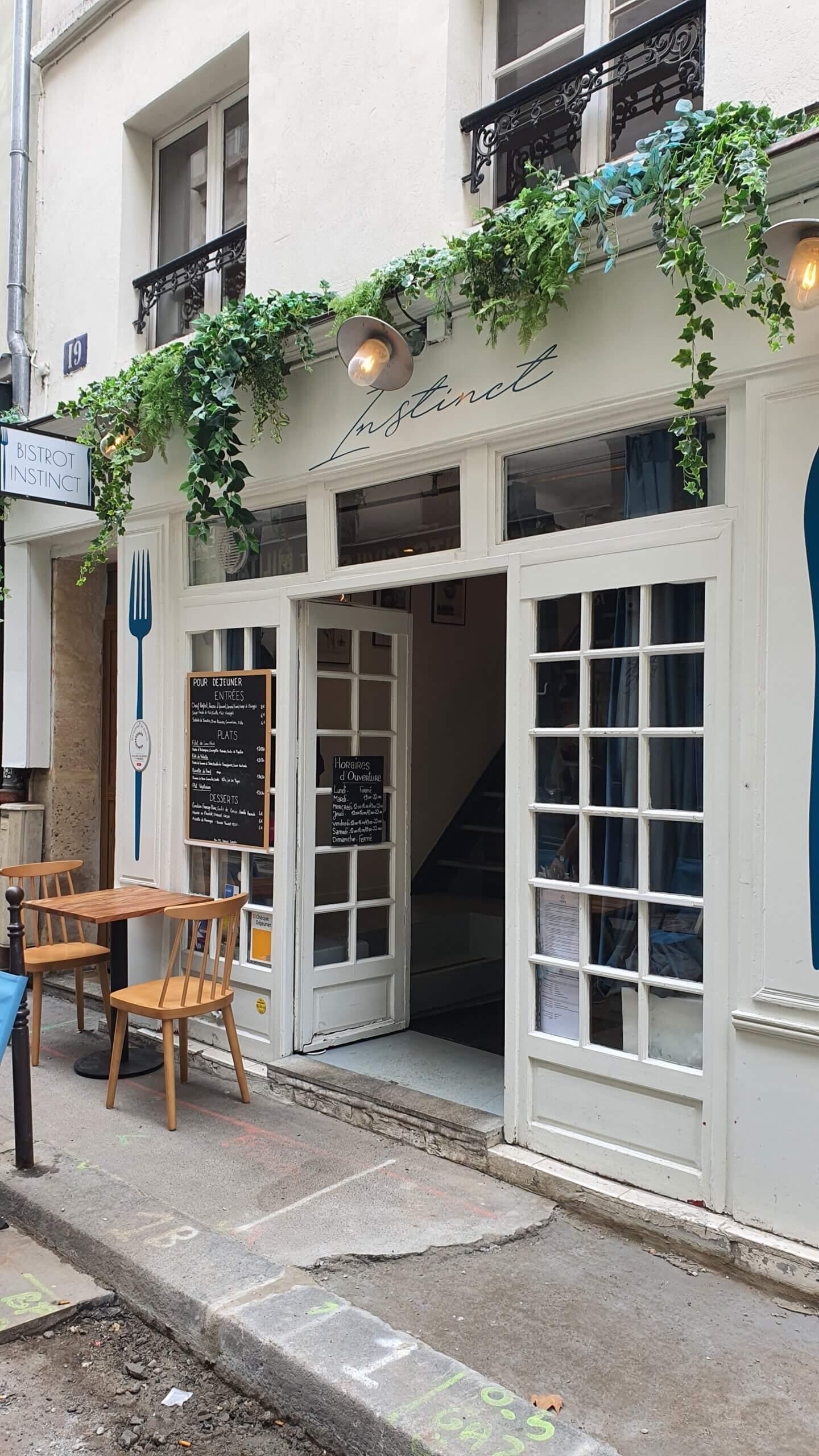 Bistrot Instinct Paris