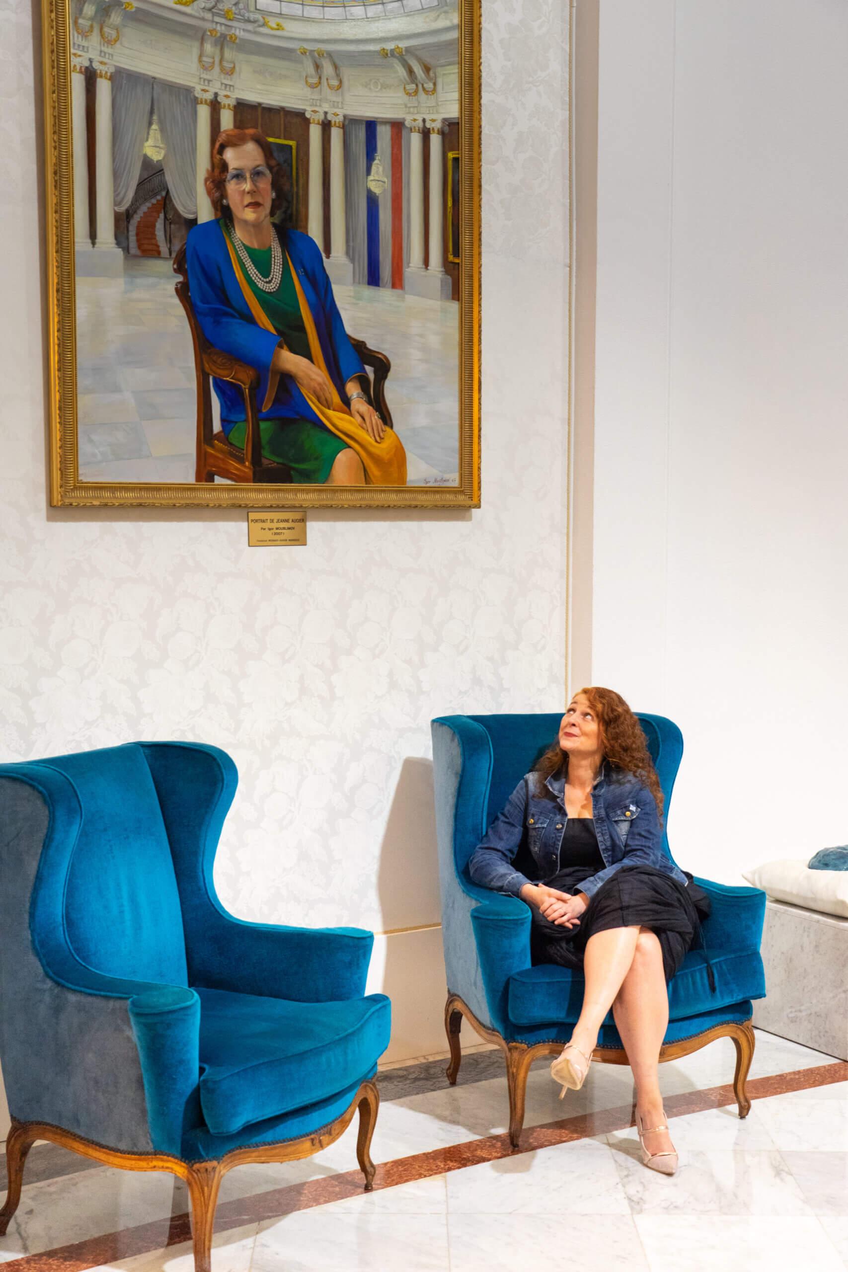 Jeanne Augier, das Hotel Negresco und ich