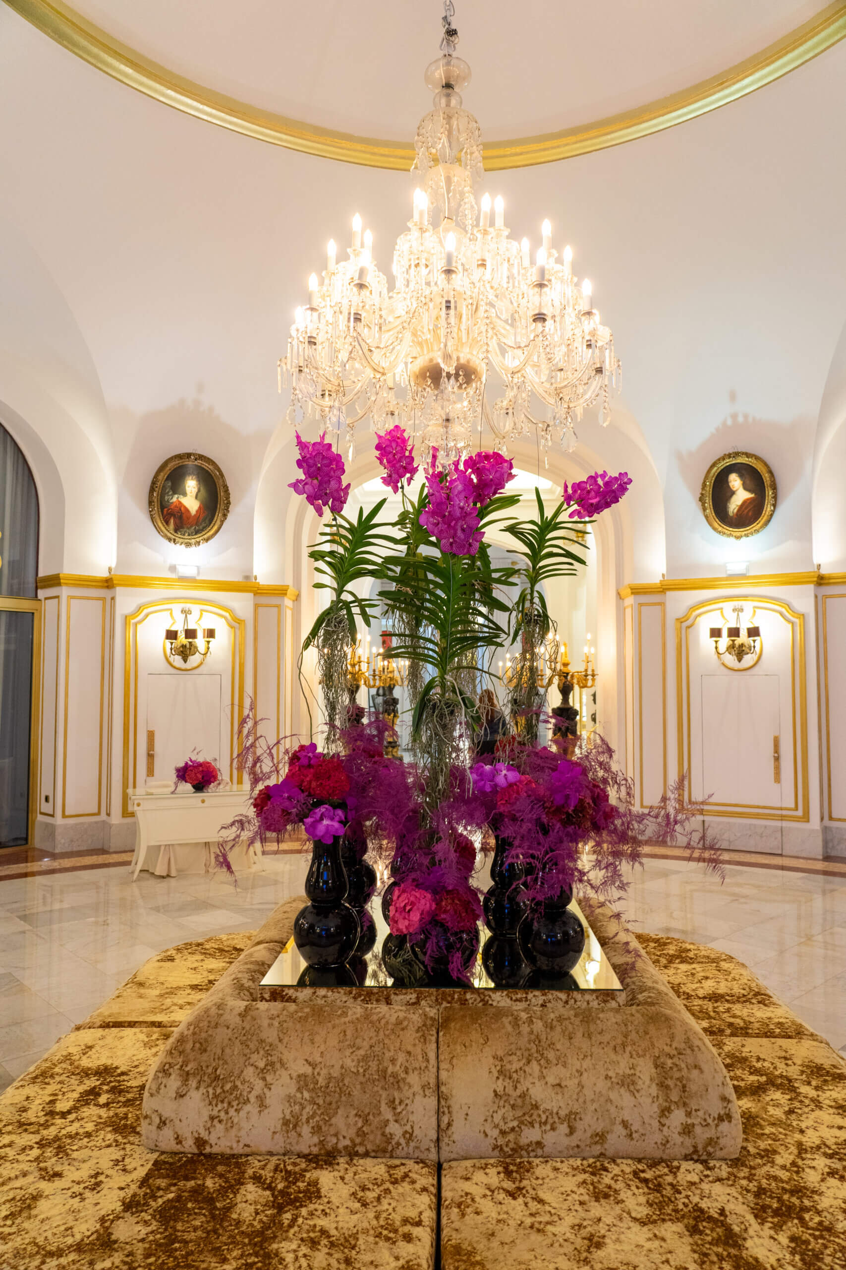 Lobby des Hotel Le Negresco in Nizza