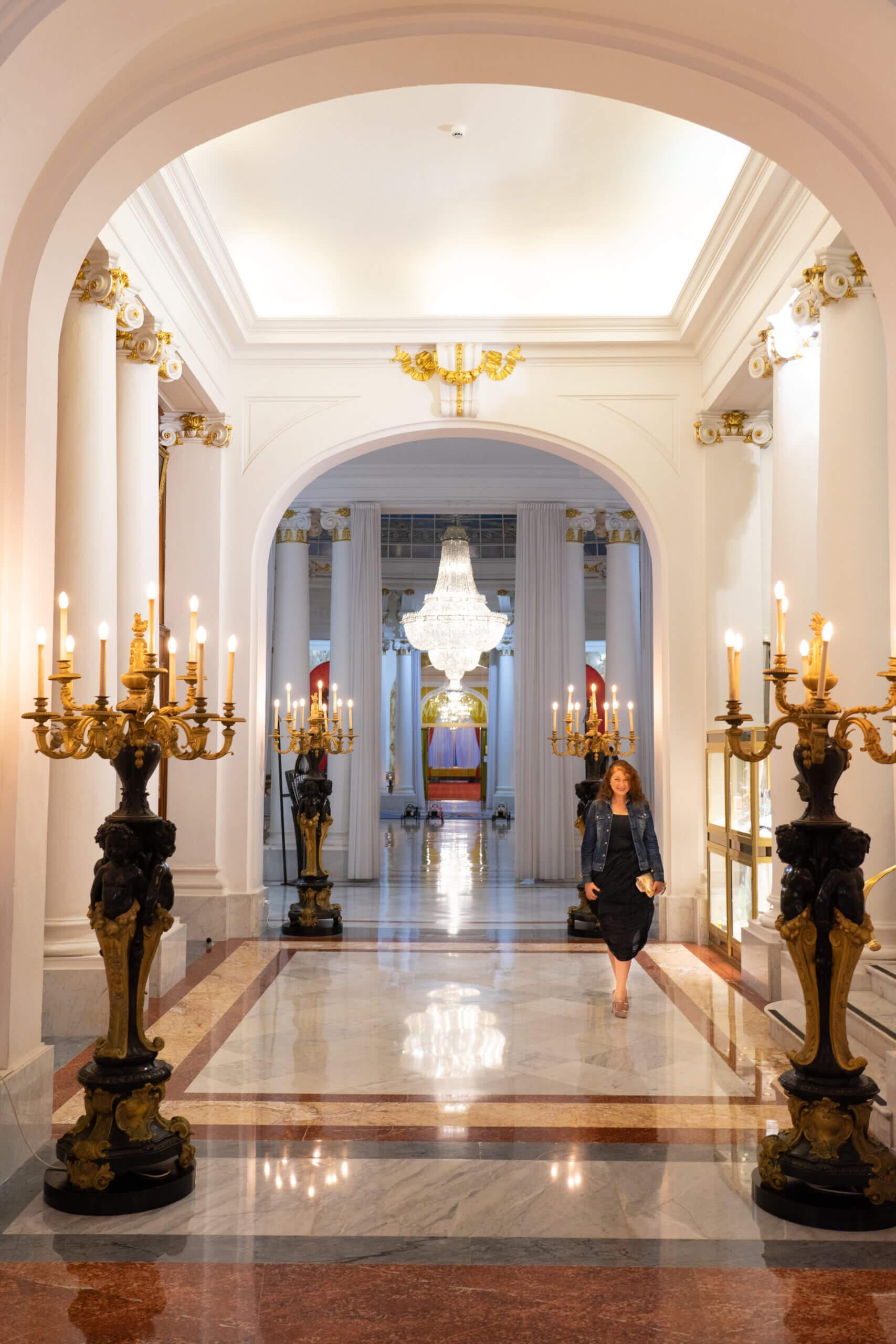 Lobby im Negresco Nizza